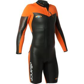 blueseventy Alliance Swimrun Wetsuit Heren, zwart/oranje
